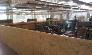 Pohľad na stroj. dielňu