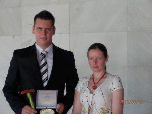 Ocenený študent