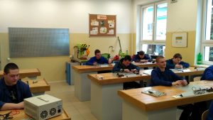 Učebňa elektrodielní III
