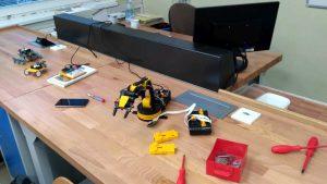 Programové ovládanie mini robota 1
